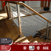 house design rod pipe chrome handrails for stairs with 304