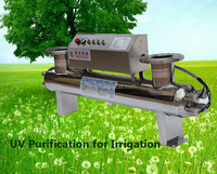 Factory direct selling 75w 5t small UV sterilizer circulation system manufacturer china