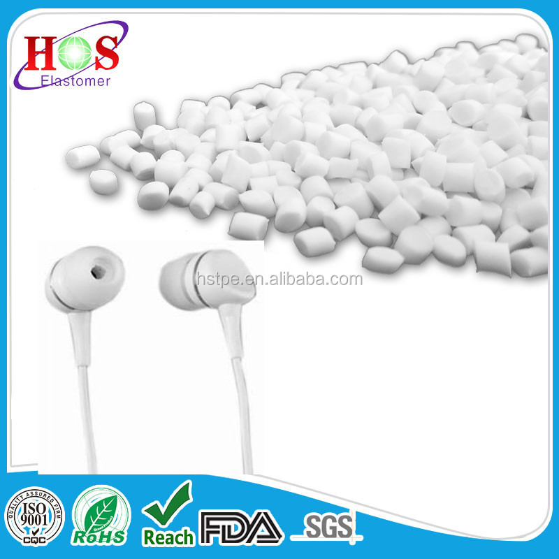 virgin TPE TPR compound granules for Headphone cable