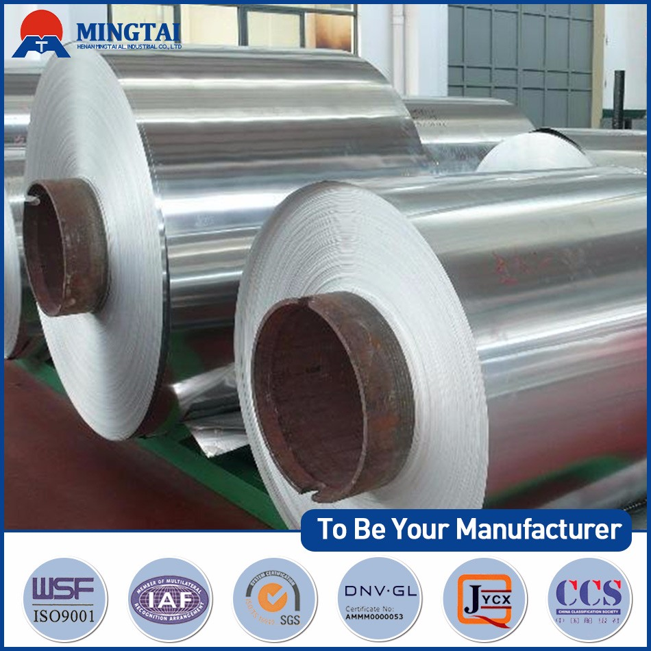 Mill finished aluminium foil 5052 used for checkered plate