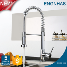 Brass single lever single handle zinc alloy contracted water tap for bathroom
