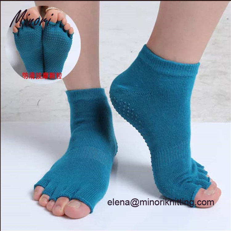 Best yoga socks anti odor antibacterial non slip yoga pilates barre grip socks
