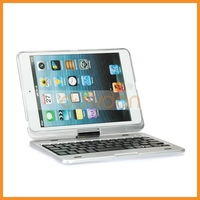 360 Degree Wireless Tablet Keyboard Case Rotate Bluetooth Keyboard for iPad Mini