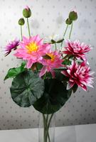 SJ10111204 Artificial mini decoration dry flower Lotus flower bouquet