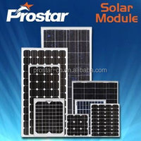 Prostar poly cost of pv solar panels 250W PPS250W