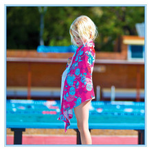 OEM kids personalized swimming printed cappa for beach and pool