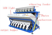 Vision dried vegetables optical sorting machine, color sorter