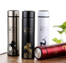 Factory price new design double wall vacuum insulated stainless steel water bottle with logo