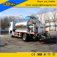 1000-13000 Liter Asphalt Spreader Truck for Road