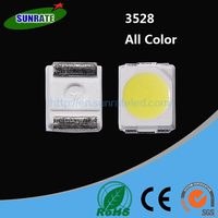 20mA 0.06W SMD 3528 LED Chip Specifications