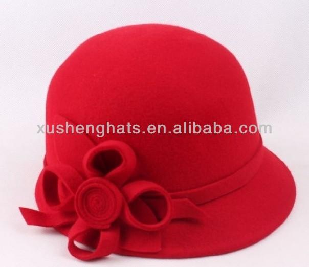 2014 Fedora hats in wool felt