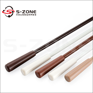 flexible 10mm fiberglass curtain rods wand for pulling curtain