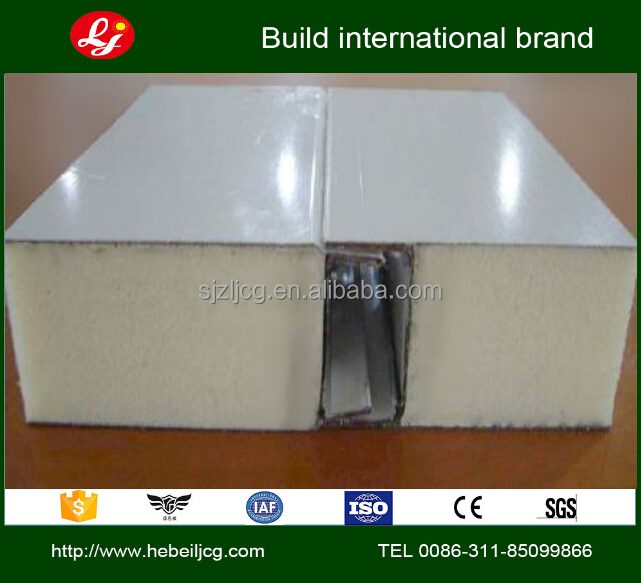 PU Sandwich panel for freezer cold room insulated sandwich panels lightweight composite panels