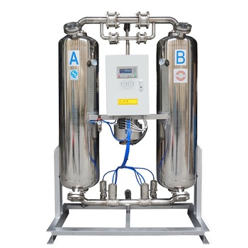 10.7Nm3/min schulz dryer with cms carbon molecular sieve and magnetic valve