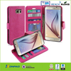 Double layers credit card holder case for samsung galaxy s5