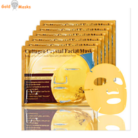 Beauty face mask 24k gold collagen crystal facial mask for skin care private label