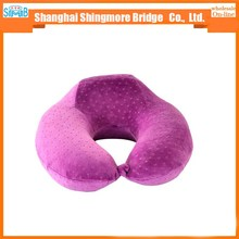 2017 alibaba china supplier cheap wholesales high standard soft travel pillow u shaped