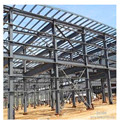 High Quality greenhouse steel structure Precisely OEM steel buildings for warehouse round