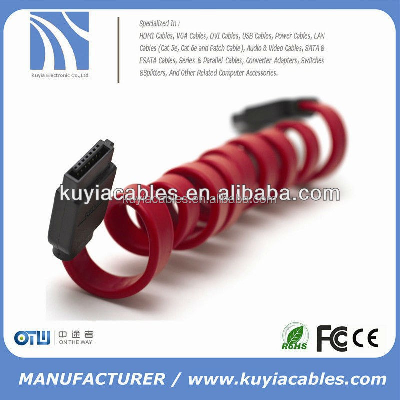 factory price super speed flexible sata cable
