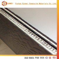 China aluminum honeycomb core sandwich panel/alucobond aluminium composite panel price