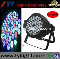 Factory price rgbw 4in 1 54x3 led stage par can,54pcs 3w rgbw led par for dj disco bar club night