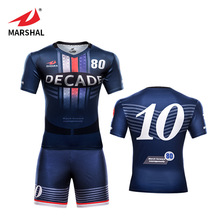 Thailand training sublimation football shirt design your own soccer jersey