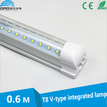 NEW Model Cooler Door V-Shaped Led Fluorescent Lamp with high quality