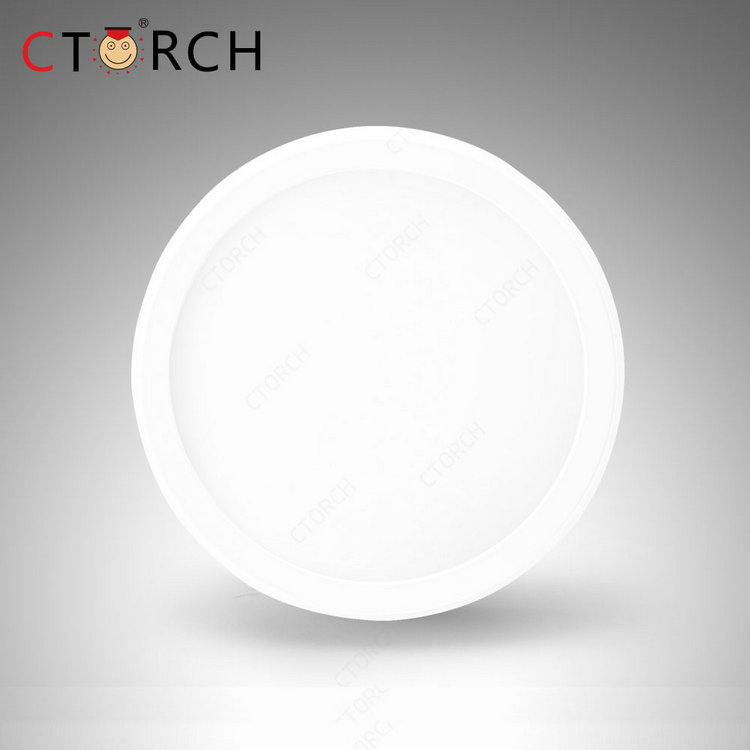 China wholesale Ctorch isolated plastic lamp round 12w led panel light bulb