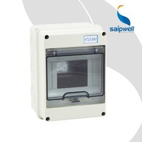 Saipwell 3 Phase IP66 Plastic Electrical Power Outdoor Waterproof Cable Distribution Box