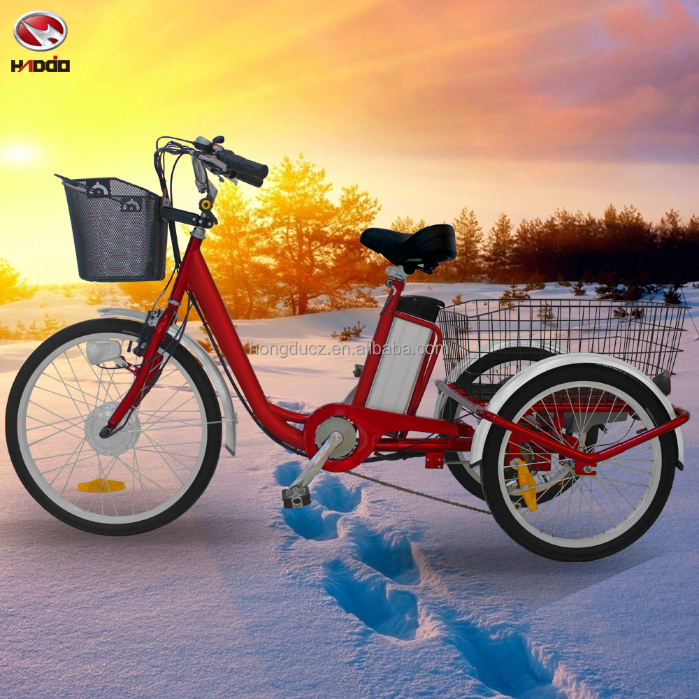Cheap electric cargo tricycle for adult