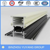 High qualtiy aluminum extrusion profiles for making windows and doors