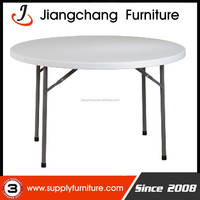 Wholesale 6ft Round Banquet Plastic Foldable Table JC-T402
