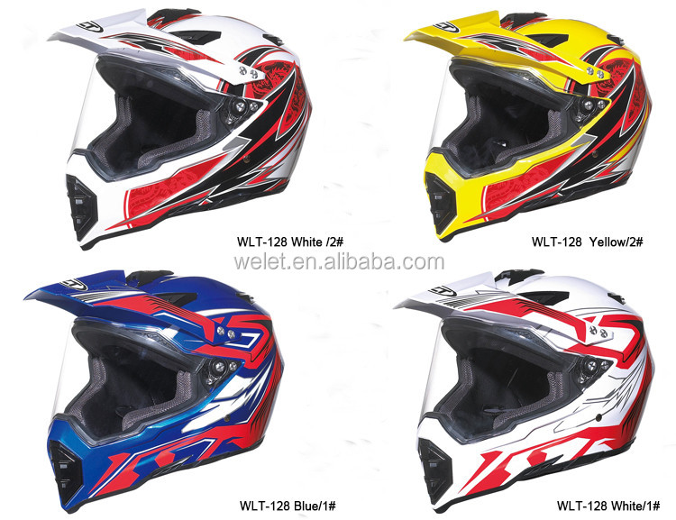 DOT Racing motorcycle cascos