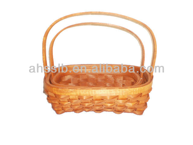 Hotselling Wood berry Basket