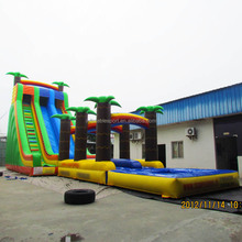 Best quality palm tree inflatable water slide/jumbo water slide inflatable/water slide giant inflatable