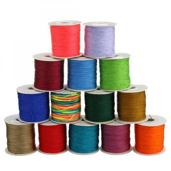 hot sale nylon cord 0.8mm for jewelry making 90m/PC 312834