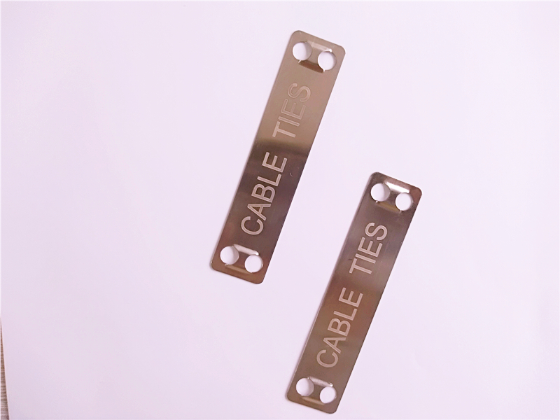 stainless steel cable tie marker tag