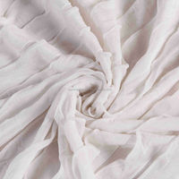 hot sale stretch/elastic tiered ruffle fabric