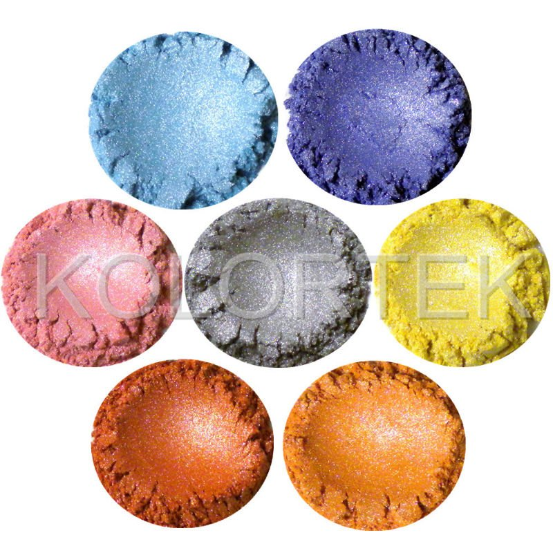 Popular Cosmetic Mica Pigments For Soaps Making