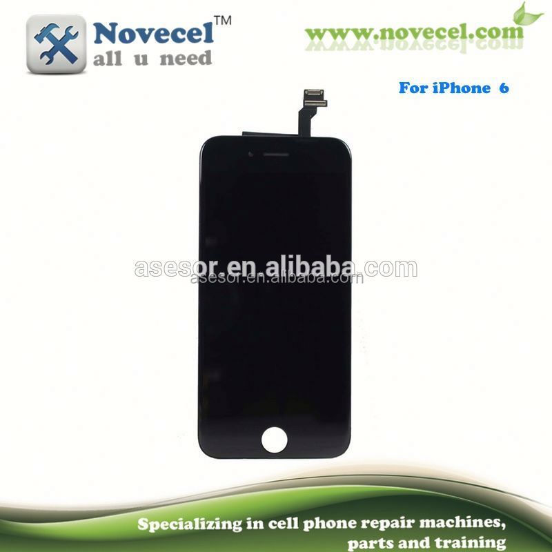 2016 POPULAR PERSONAL USE&REPAIR SHOPS USE full set lcd screen refuibished kit with flex cable for iPhone 6