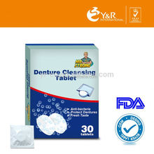 Denture cleaning products denture retainers with free sample