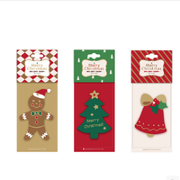 Creative Christmas tree fragrance piece hanging paper car air freshener