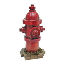 Dog Breed Helping Hand Fire Hydrant Statue. Display Prop