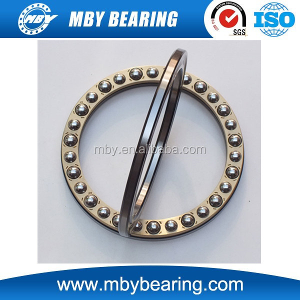 Size 45x65x14mm thrust ball bearing 51109 machine bearing