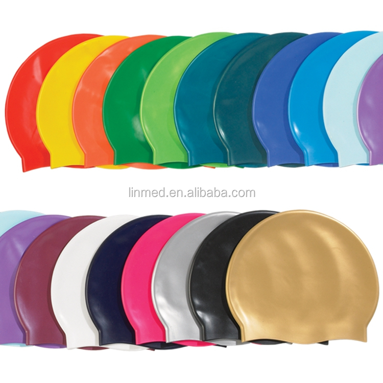 Wholesale OEM Swim Caps Racing Custom Printed Swimming Caps
