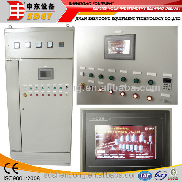 control system for beer brewery equipment,automatic control of pressure