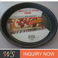 Home Cooking Carbon Steel Pizza Round Bottom Cake Pans Mould