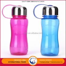 Promotional Items 400ML Portable AS Plastic Baby Kids Sport Water Bottle