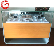 Hot sale mobile phone display stand glass mobile store furniture cell phone display