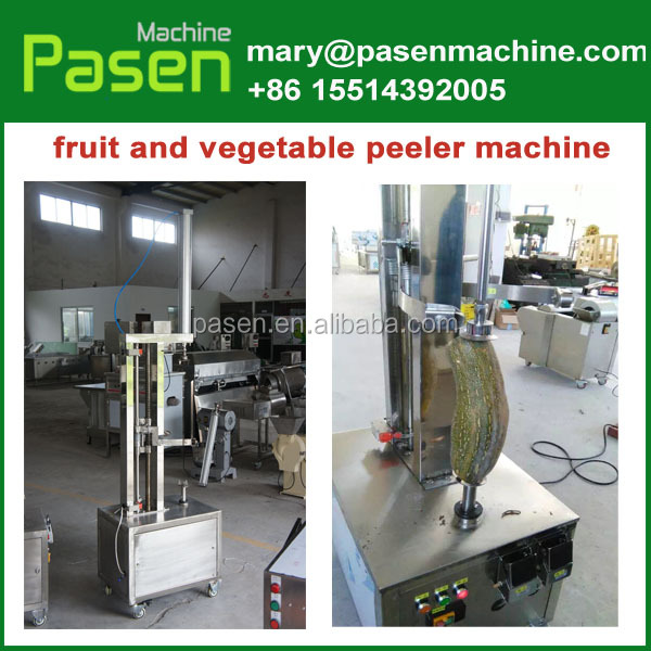 Electric pineapple peeler corer slicer / vegetable peeler machine / taro skinning machine